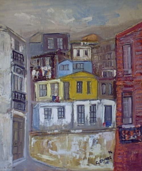 Camusartist - Valparaiso 1  CamusArt-Original Oleo