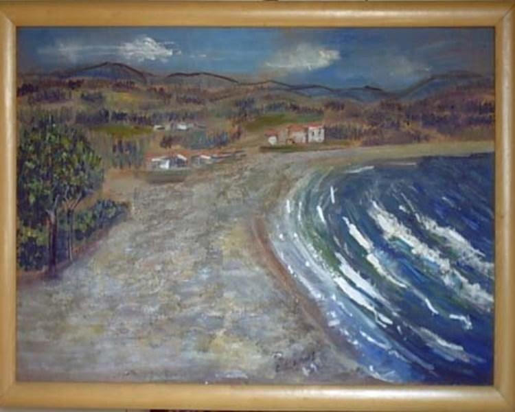 Camusartist - Alhue 1- Chile- CamusArt-Original Oleo