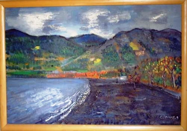 Camusartist - Pucon- Chile- CamusArt-Original Oleo
