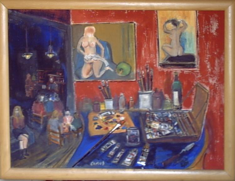Camusartist - Atelier Artista- Chile- CamusArt-Original Oleo