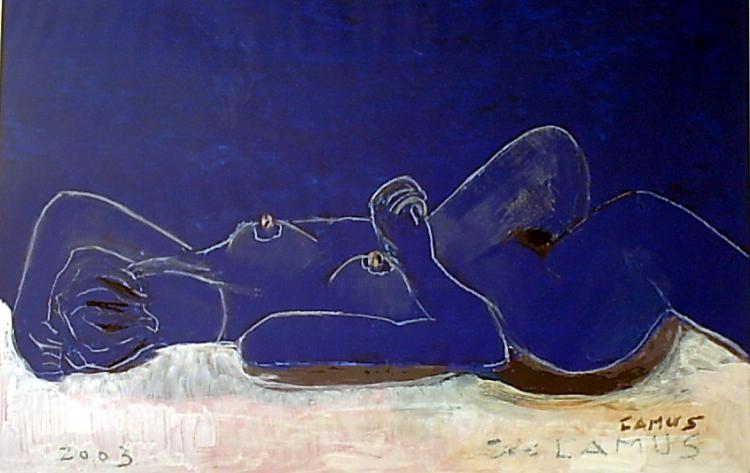 Camusartist - Desnudo Azul