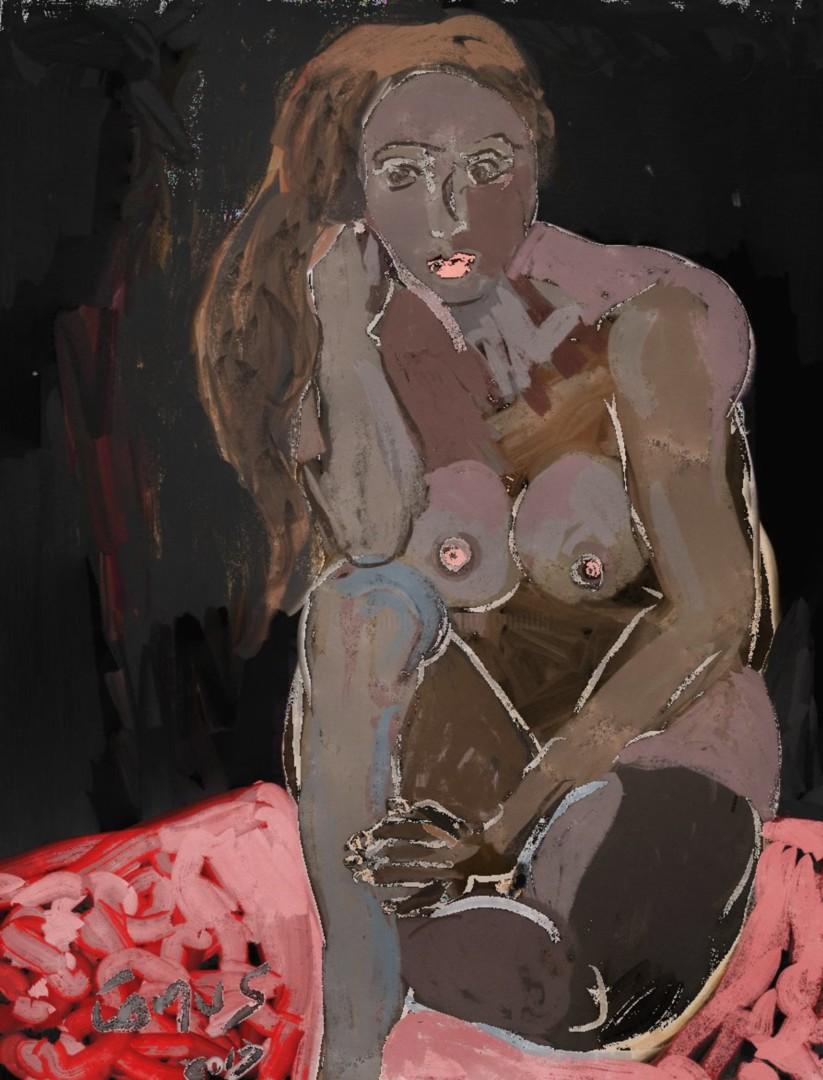 CamusArtist - Desnudo - Modelo