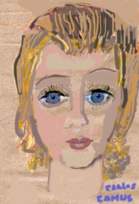 CamusArtist - Retrato- Sarita
