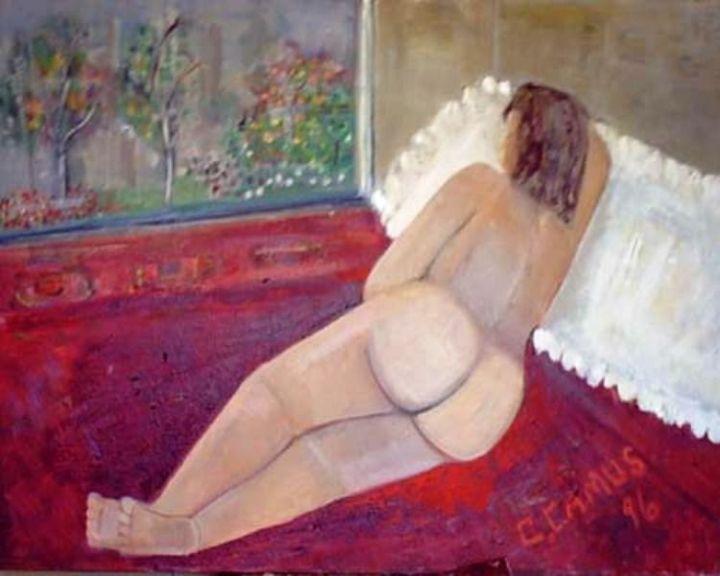 CamusArtist - Nude- Modelo 1- Chile- CamusArt-Original Oleo